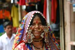 Indische Dame Stockbild