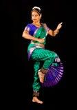 Indische Danser Royalty-vrije Stock Afbeeldingen
