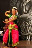 Indische Danser Royalty-vrije Stock Afbeelding