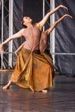 Indische Dansers Royalty-vrije Stock Afbeelding