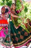 Indische dansers Stock Foto's