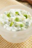 Komkommer Raita Royalty-vrije Stock Fotografie
