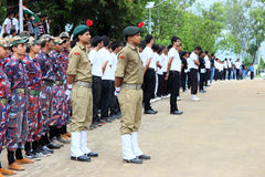 Indische de paradegebeurtenis van de Onafhankelijkheidsdag Royalty-vrije Stock Foto