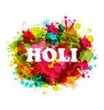 Indische de Vierings Traditionele Achtergrond van Festivalholi Stock Fotografie