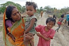 Indische Dorf-Lebensdauer Lizenzfreies Stockbild