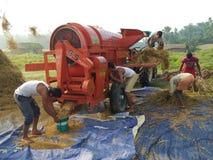 Indische Dorfarbeitskraft stockbilder