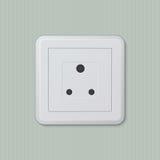 Indische elektrische contactdoos 08 Stock Afbeeldingen