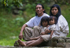Indische Familie Lizenzfreie Stockfotografie