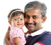 Indische familie. royalty-vrije stock afbeeldingen