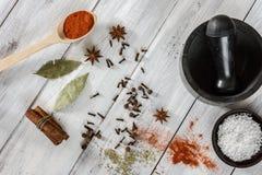 Indische Farben Stockfoto