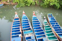 Indische Fischerboote stockfotografie