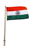 Indische Flagge Stockfoto