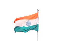 Indische Flagge Stockfotos