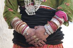 Indische Frau Stockfotografie
