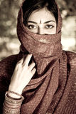 Indische Frau Lizenzfreie Stockfotografie