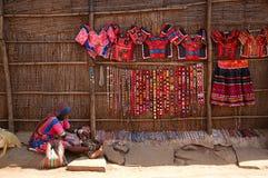 Flohmarkt in Indien Lizenzfreie Stockbilder