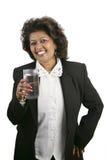 Indische Frau - Erfrischung lizenzfreies stockbild