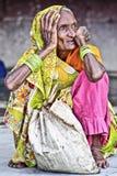 Indische Frau, Indien Stockbild
