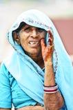 Indische Frau, Indien Lizenzfreie Stockfotografie