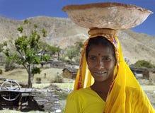 Indische Frau - Rajashan - Indien stockfoto