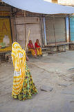 Indische Frauen von fourt Klasse Lizenzfreies Stockfoto