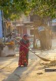 Indische Frauen von fourt Klasse Stockbilder