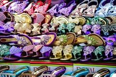 Indische Fußbekleidung stockfotos