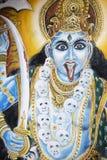 Indische Göttin Stockfotografie