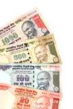 Indische geldnota's Royalty-vrije Stock Afbeelding
