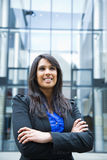 Indische Geschäftsfrau Stockfotos