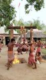 Indische God, Mahadev, God van Dood, Festival, Soort Achting van God stock fotografie