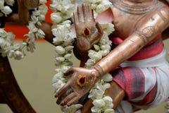 Indische god Shiva Royalty-vrije Stock Foto
