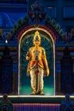 Indische Gottheit nachts lizenzfreie stockbilder