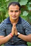Indische Grüße Lizenzfreie Stockbilder