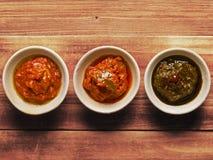 Indische groenten in het zuur Royalty-vrije Stock Afbeeldingen