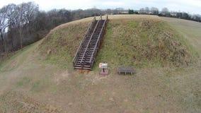 Indische Hügel Etowah - Cartersville, GA, Vereinigte Staaten Stockfoto