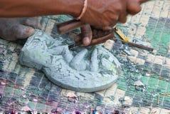 Indische Handarbeit Lizenzfreie Stockfotos