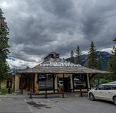 Indische Handelsstation in der Stadt von Banff Stockfotografie
