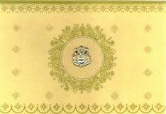indische Hochzeitskarte Lizenzfreies Stockbild