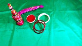 Indische Huwelijksrituelen Stock Foto's