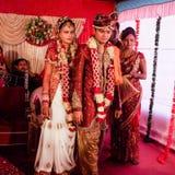 Indische huwelijksstijl Stock Afbeeldingen