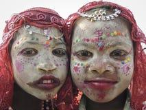 Indische jonge geitjes Royalty-vrije Stock Foto's
