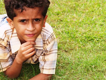 Indische jongen Royalty-vrije Stock Fotografie