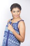 Indische Jugendlichnahaufnahme Lizenzfreie Stockfotos