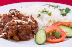 Indische Küche - Lammfleisch Lizenzfreies Stockfoto