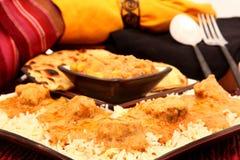 Indische Keuken royalty-vrije stock afbeeldingen