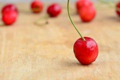 Indische Kirschfrucht Stockfoto