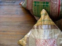 Indische Kissen Lizenzfreie Stockbilder