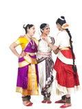 Indische klassieke vrouwelijke dansers Royalty-vrije Stock Afbeelding