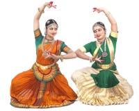 Indische klassische weibliche Tänzer Stockfoto
